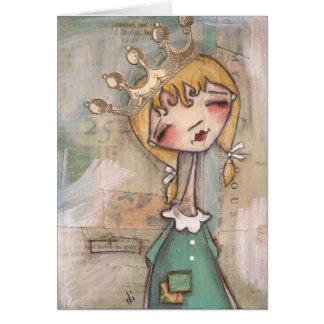 História de Cinderella - cartão