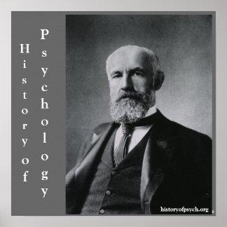 História de G. Stanley Salão de canvas da psicolog Posters