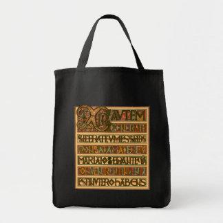 História do evangelho do século VIII de St Matthew Sacola Tote De Mercado