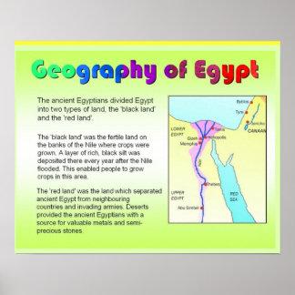 História, Egipto antigo, geografia Poster