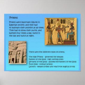 História, Egipto antigo, padres Poster