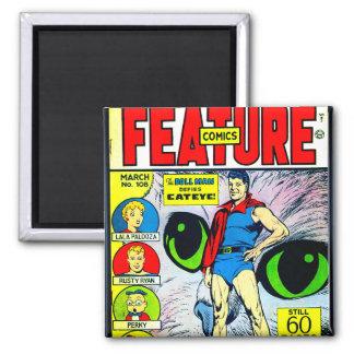 História em quadrinhos #108 da característica ímã quadrado