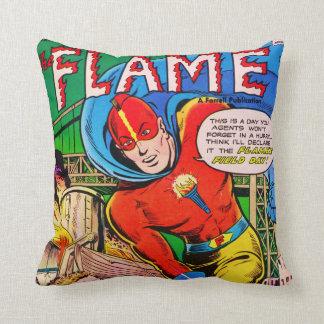 História em quadrinhos da chama travesseiros