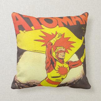 História em quadrinhos do vintage de Atoman Travesseiros