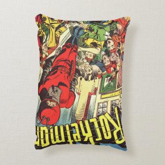 História em quadrinhos retro - Rocketman Almofada Decorativa