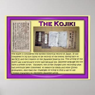 História, Japão, Kojiki Pôster
