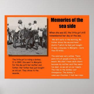 História, memórias do beira-mar em 1949 poster