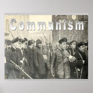 História, revolução de russo, comunismo poster