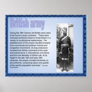 História, Victorians, exército britânico Poster