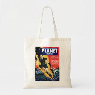 Histórias do planeta - o saco da revolta das estre sacola tote budget