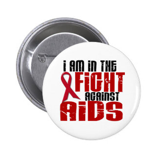 HIV do AIDS na luta 1 Botons