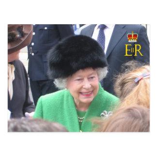 HM o cartão do jubileu de diamante da rainha