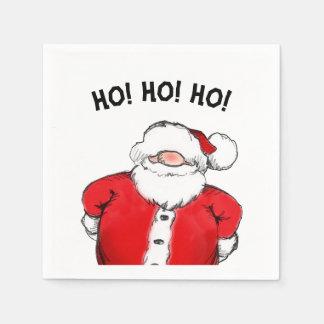 HO! HO! HO! Guardanapo de papel da festa de Natal