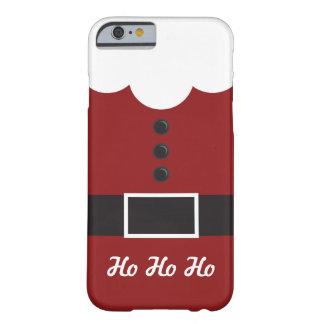 Ho Ho Ho o papai noel sere o caso do iPhone 6 do Capa Barely There Para iPhone 6