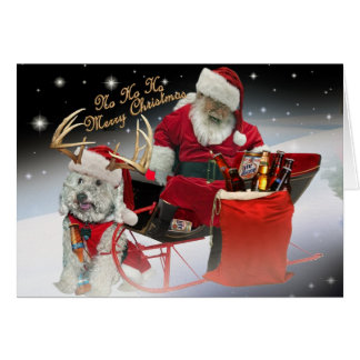 HO HO HO tenha cartões do Feliz Natal