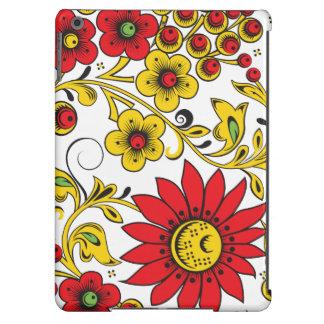 Hohloma floral capa para iPad air