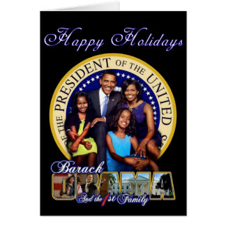 Hoildays feliz cartão comemorativo