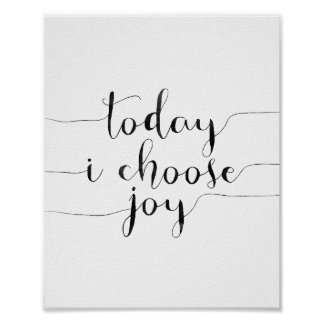 Hoje eu escolho a alegria poster