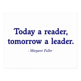 Hoje um leitor amanhã um líder