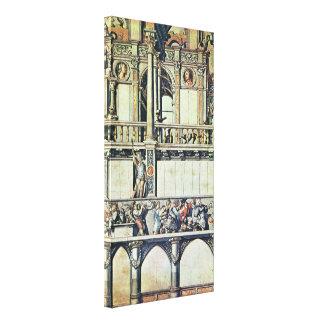 Holbein JJohn - projete para a decoração da casa Impressão Em Canvas