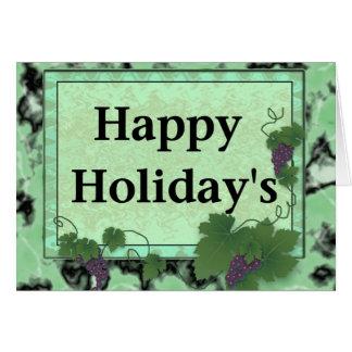 Holiday&apos feliz; s cartões