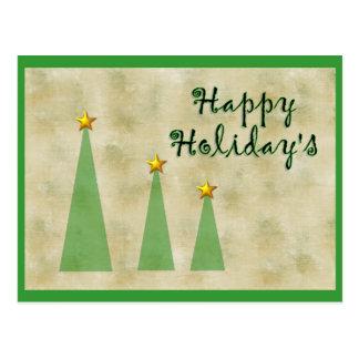Holiday&apos feliz; s cartão postal