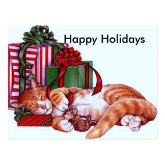 Holidays#2 feliz cartão postal