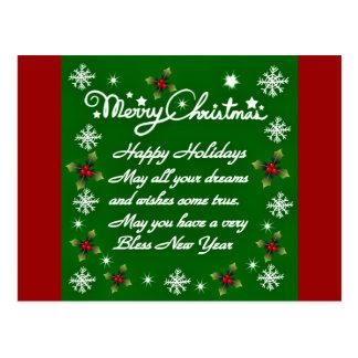 Holidays#4_ feliz cartões postais