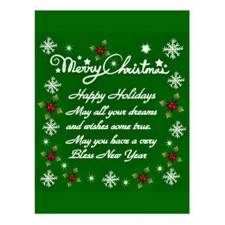 Holidays#4_ feliz cartão postal