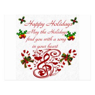 Holidays#9_ feliz cartão postal