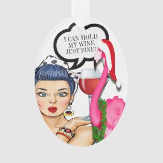 #holidayZ do ornamento do pop art do vinho do
