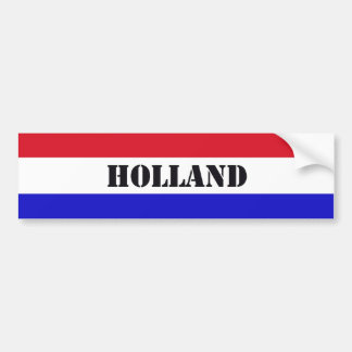 Holland Bumpersticker Adesivo Para Carro