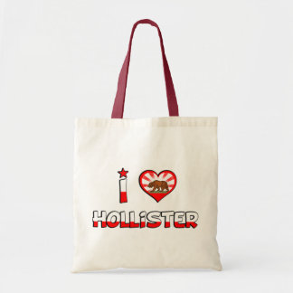 Hollister, CA Sacola Tote Budget