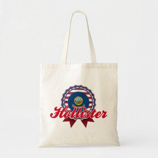 Hollister, identificação bolsas de lona