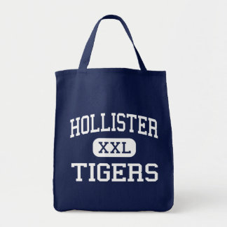Hollister - tigres - alto - Hollister Missouri Sacola Tote De Mercado