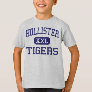 Hollister - tigres - alto - Hollister Missouri Camiseta