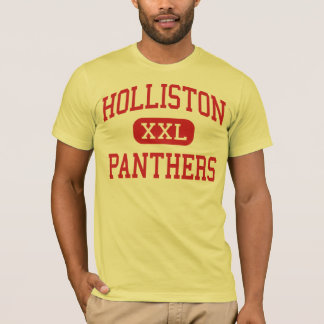 Holliston - panteras - alto - Holliston Camiseta