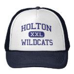 Holton - Wildcats - segundo grau - Holton Kansas Bone
