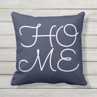 'home azul, meu place favorito almofada para ambientes externos