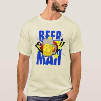 Homem da cerveja camiseta