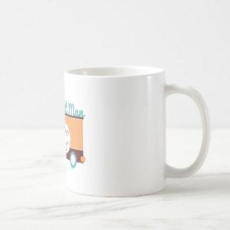 Homem da filhós caneca de café