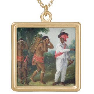 Homem de cor indiano ocidental, dirigindo dois o C Bijuterias Personalizadas