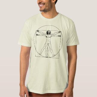 Homem de da Vinci Vitruvian T-shirt