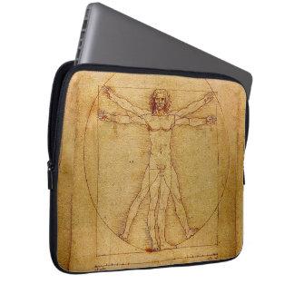 Homem de Vitruvian por Leonardo da Vinci Capa De Notebook