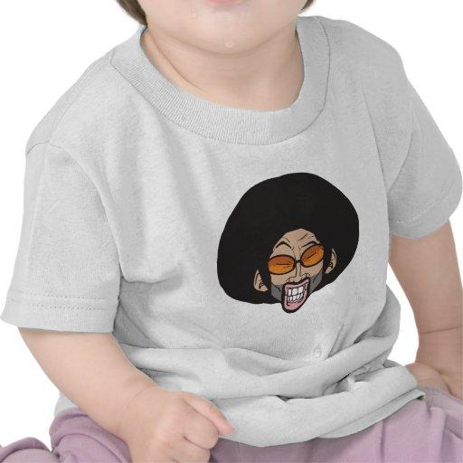 Homem do Afro de Hiphop Camiseta