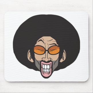 Homem do Afro de Hiphop Mouse Pad