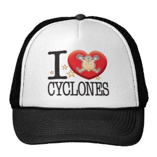 Homem do amor dos ciclones boné