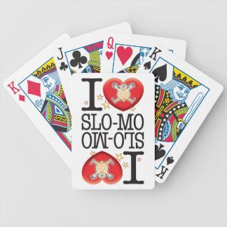 Homem do amor Slo-Mo Baralho Para Poker