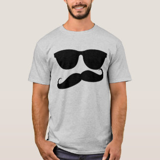 Homem do bigode camiseta