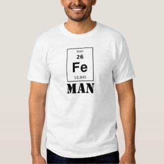 Homem do ferro (senhora, qualquer coisa que você tshirts